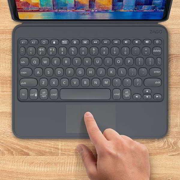 ZAGG Pro Keys iPad Wireless Keyboard with Trackpad and Detachable Case