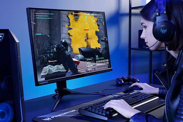 Acer Predator X25 Bmiiprzx Gaming Monitor with Up to 360Hz Refresh Rate