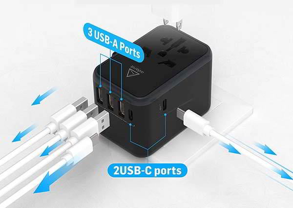 Adonit Universal Power Adapter and USB/USB-C Charger