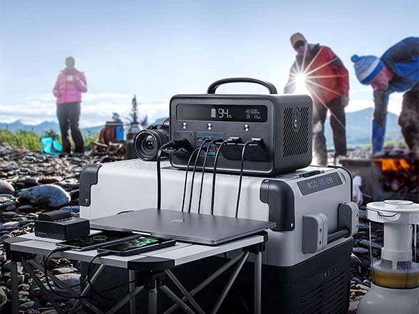 Anker PowerHouse II 800 Portable Power Station with LED Flashlight
