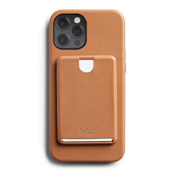 Bellroy Mod Leather iPhone 12 Case with Detachable Card Holder