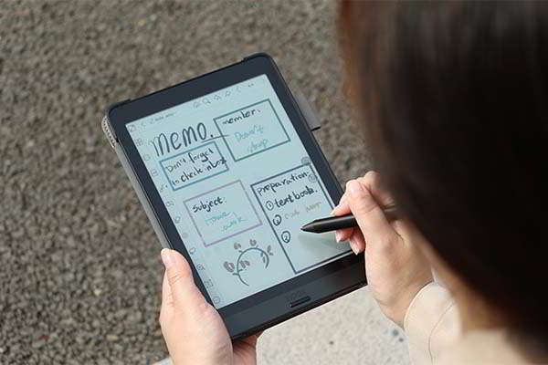 BOOX Nova3 Color E-Ink Tablet with a Writing Stylus