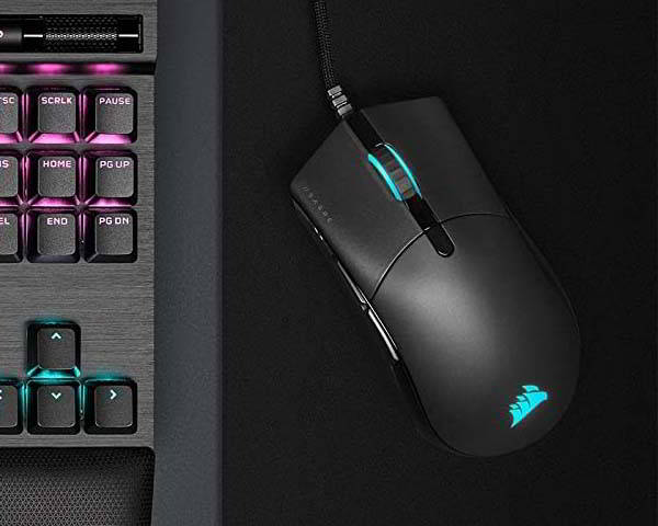 Corsair Sabre RGB Pro Champion Series Gaming Mouse with Paracord Cable
