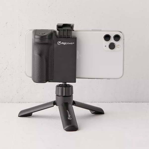 Digipower Phone Grip with Mini Tripod and Remote Shutter