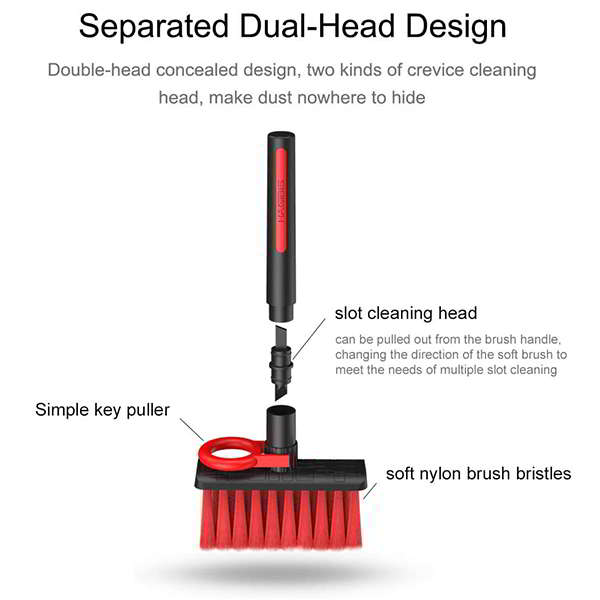 Hagibis 4-In-1 Keyboard Cleaner with Key Puller