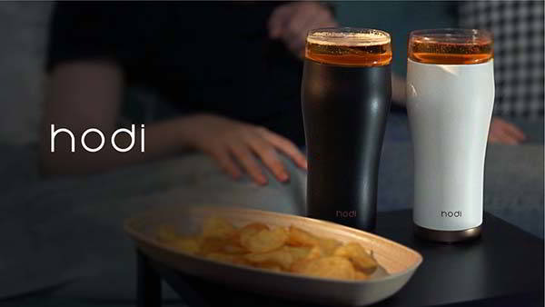 Hodi 2-In-1 Ceramic Travel Mug with Removable Glass Cup