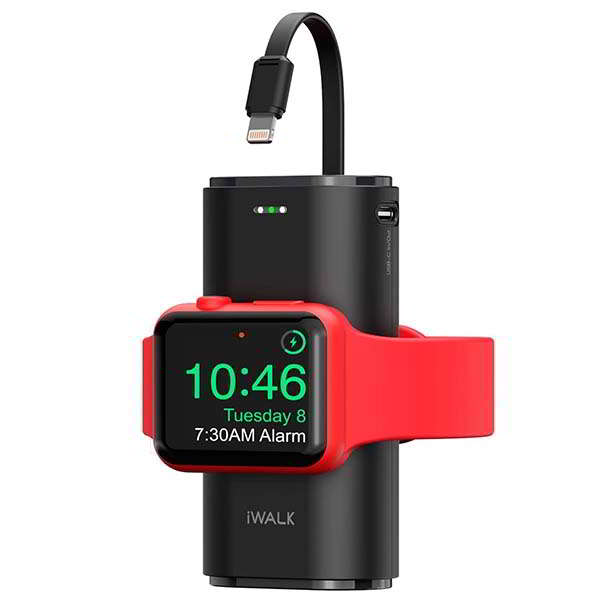 iWalk Portable Power Bank with Apple Watch Charger