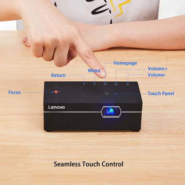 Lenovo M1 Smart Mini Projector with WiFi
