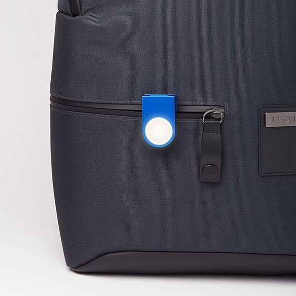 Lexon Lucie Wearable LED Clip with IPX4 Water Resistance Rating