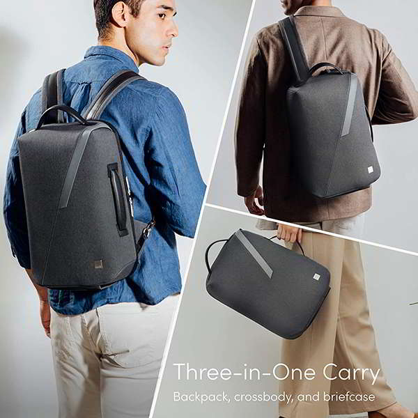 Moshi Muto 3-Way Laptop Backpack with RFID Pocket