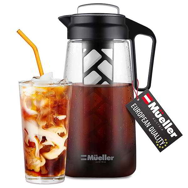 Muller Cold Brew Maker for Coffee and Tea