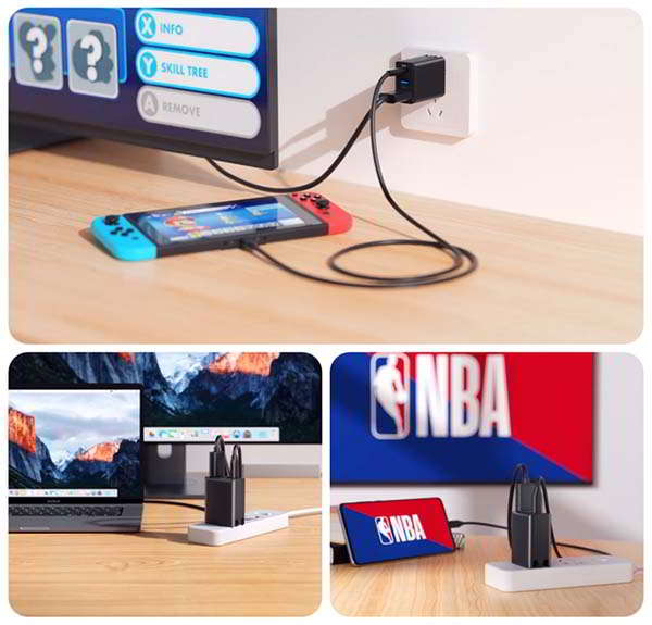 OmniCentro Nintendo Switch Dock and GaN Charger