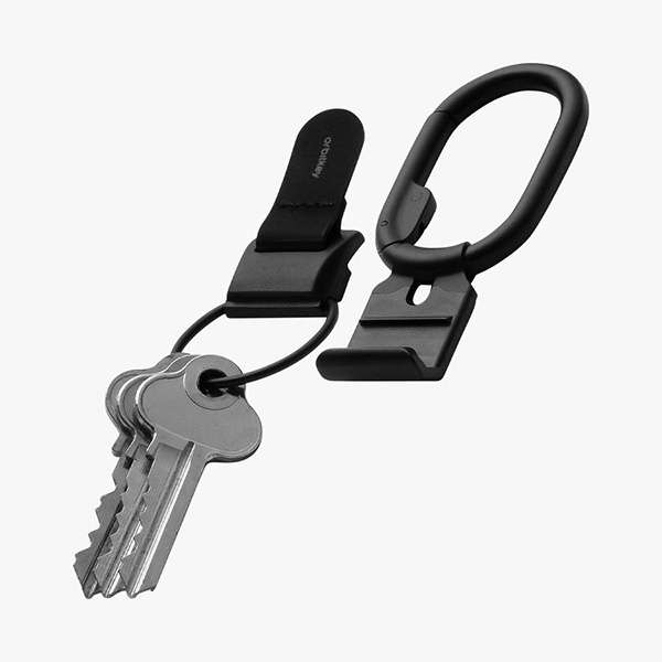 Orbitkey Clip v2 Quick-Release Magnetic Keychain