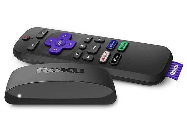 Roku Express 4K+ Streaming Media Player with Voice Remote