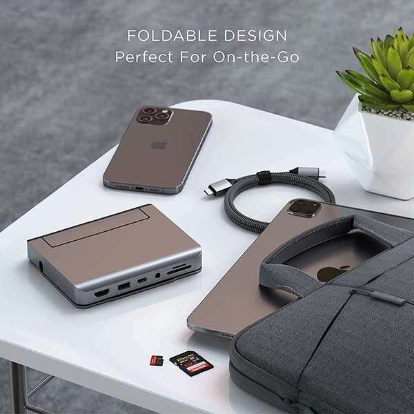 Satechi Aluminum iPad Stand and USB-C Dock