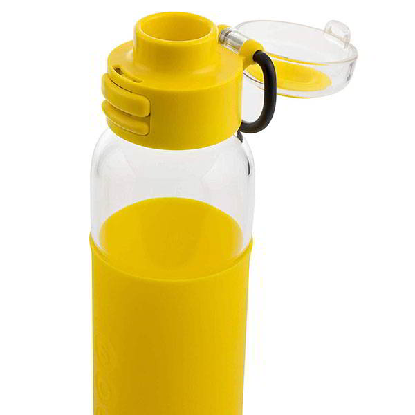 Soma Sport Glass Water Bottle with Silicone Sleeve