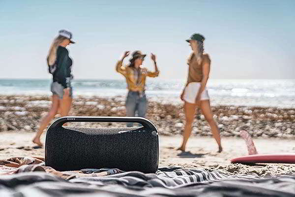 Sony SRS-XG500 Portable Bluetooth Party Speaker with LED Ring Lighting