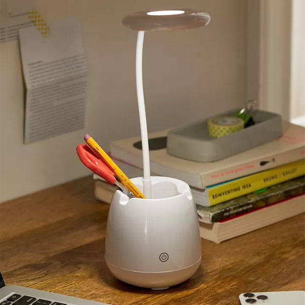 The LED Desk Lamp with Bluetooth Speaker and Pen Holder
