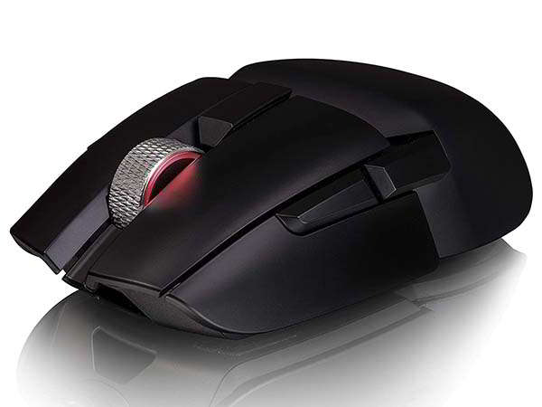 Thermaltake Argent M5 Wireless Gaming Mouse with 2-Zone RGB Lighting