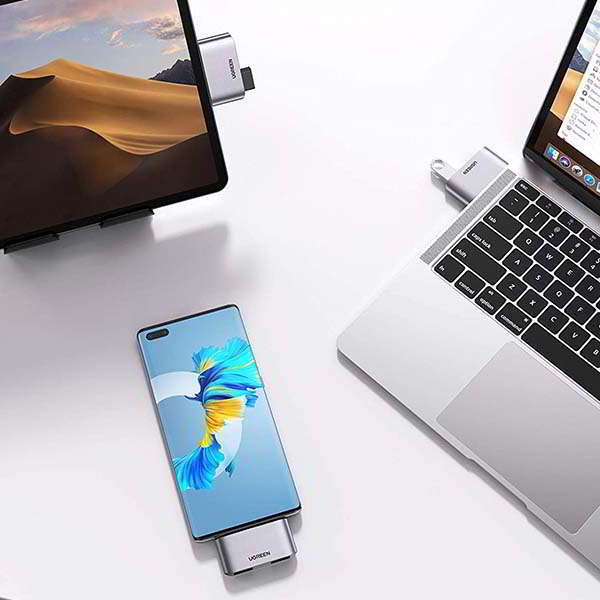 UGREEN Aluminum USB-C to USB Adapter