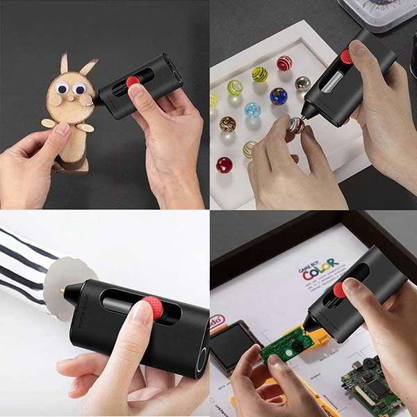 Wowstick Cordless Hot Glue Pen with Magnetic Storage