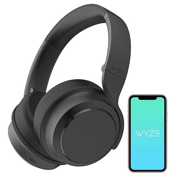 Wyze Bluetooth Active Noise Cancelling Headphones with Alexa Built-in