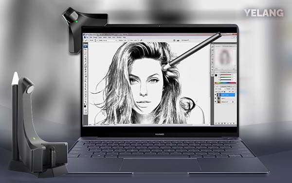 YELANG Hello X3 Turns Your Screen into Graphics Tablet