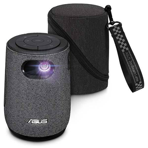 ASUS ZenBeam Latte L1 Portable Smart LED Projector with Harman Kardon Bluetooth Speaker