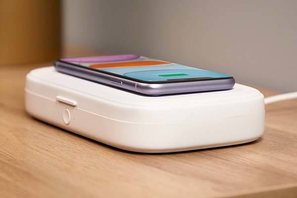Belkin BoostCharge UV Sanitizer and 10W Wireless Charger