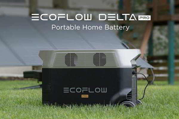 EcoFlow DELTA Pro Portable Power Station with Expandable Capacity