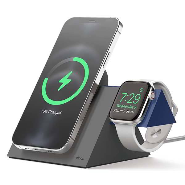 Elago MS5 Duo Charging Dock for iPhone 12 and Apple Watch