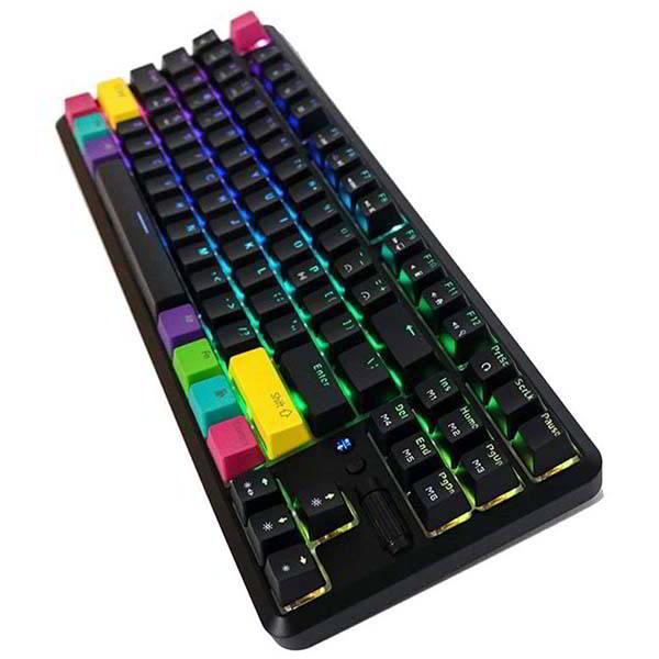 Epomaker K870T Compact Wireless Mechanical Keyboard with 87-Key Layout