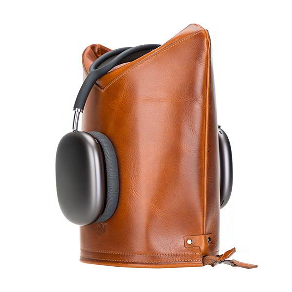 Hanna Handmade Leather AirPods Max Case and Headphone Stand