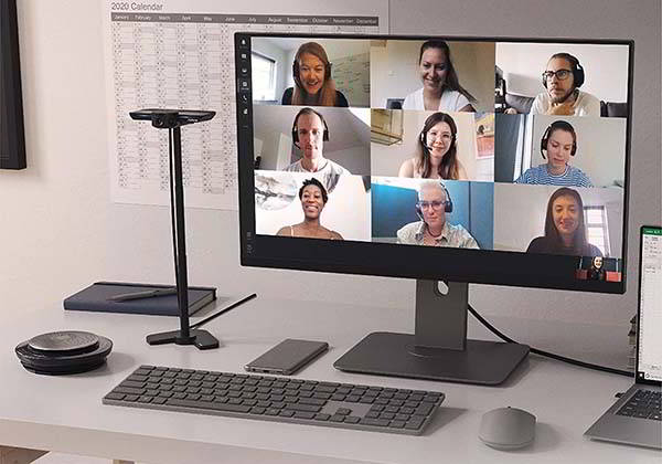 Jabra PanaCast 4K Video Conferencing Camera with Full Room Coverage
