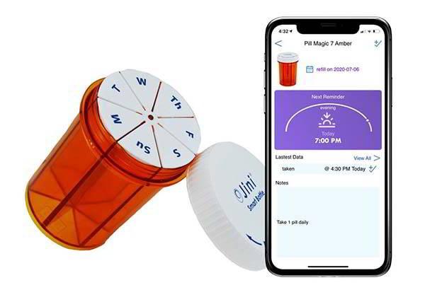 Jini Pill Magic 7 Smart Pill Holder