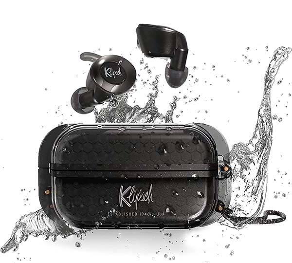 Klipsch T5 II True Wireless Sport Earphones with IP67 Waterproof Rating