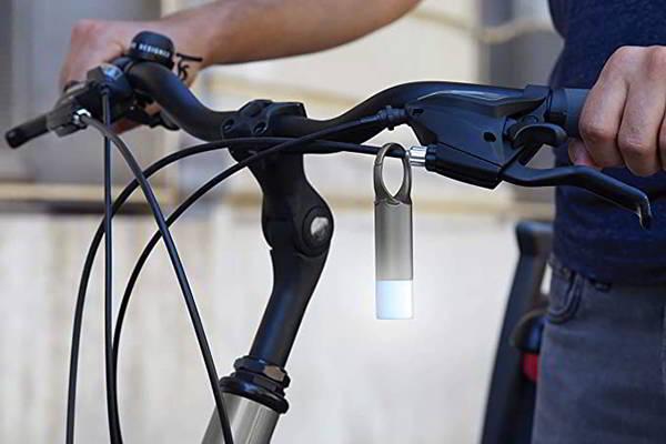 Lexon Nomaday Flash LED Warning Light with Carabiner Hook