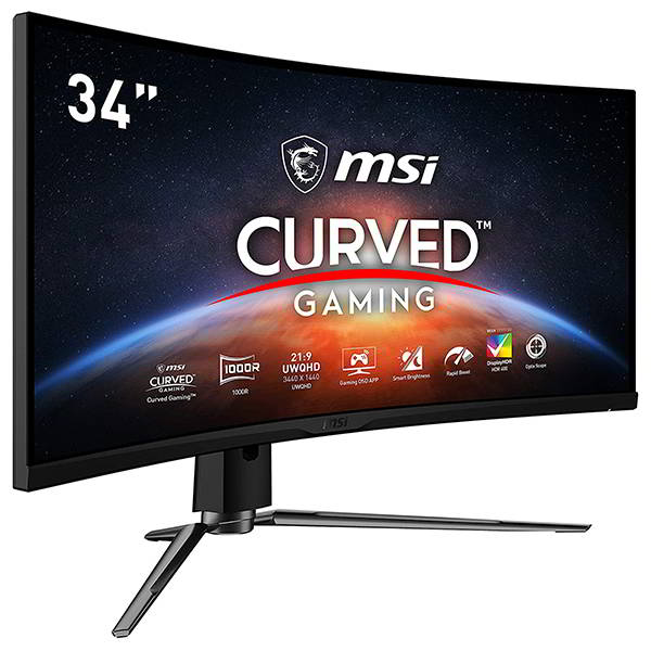 MSI MPG Artymis 34-Inch Gaming Curved Monitor with 165Hz Refresh Rate