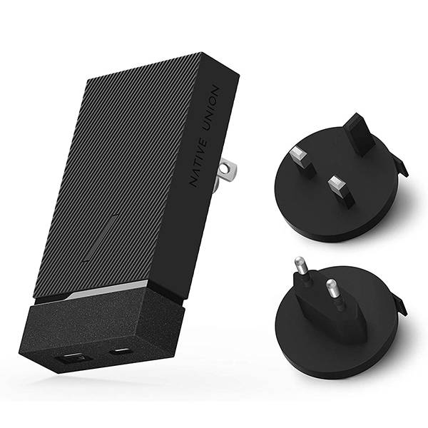 Native Union Smart Charger PD 20W with Detachable Travel Adapters