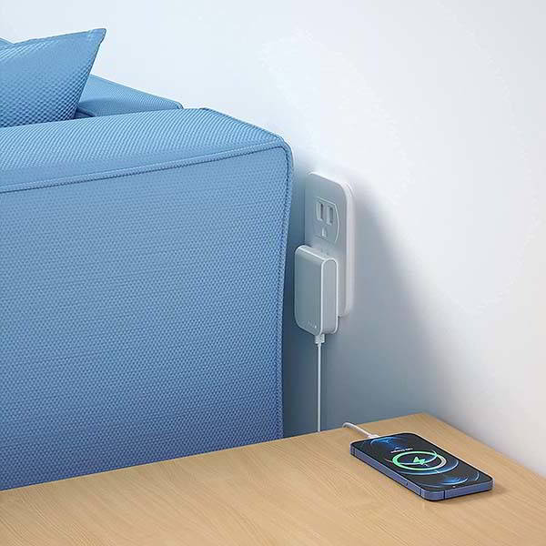 Nekmit Thin Flat USB Wall Charger with 18W Power Delivery