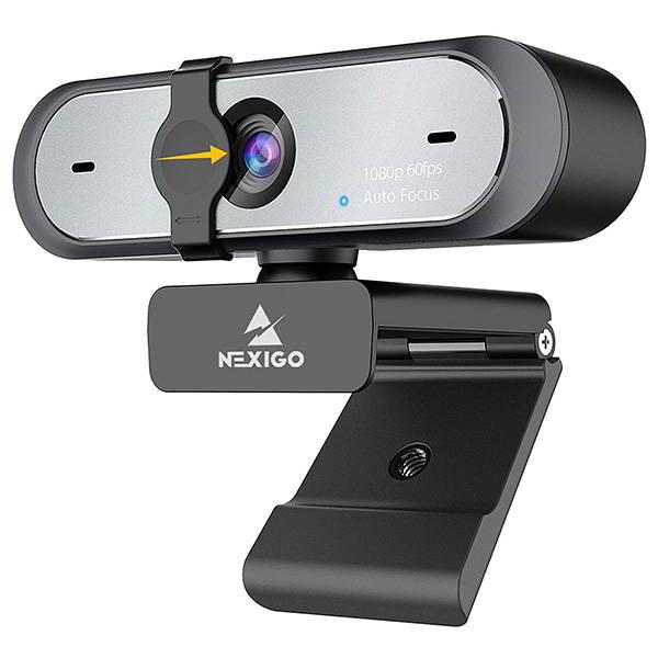 NexiGo N660P 1080p Webcam with Dual Microphones