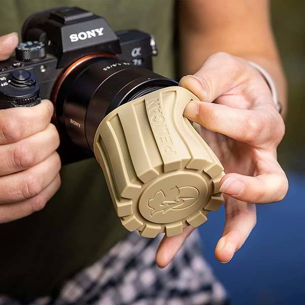 Pelican Outdoor Rugged Silicone Camera Lens Cover