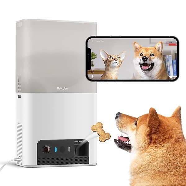 Petcube Bites 2 Lite Pet Monitoring Camera and Treat Dispenser