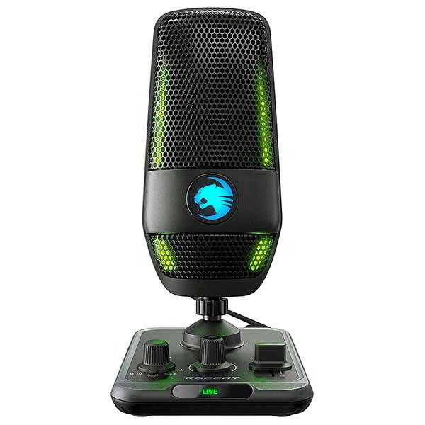 Roccat Torch Studio-Grade USB Microphone with 3 Pick-up Patterns