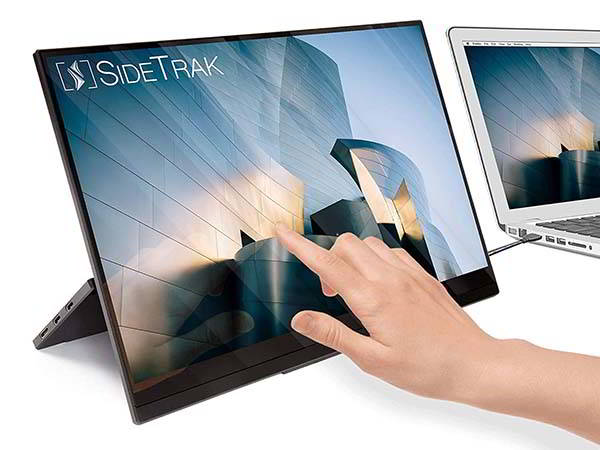 SideTrakSolo Portable Touchscreen Monitor with Stand