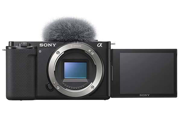 Sony Alpha ZV-E10 Mirrorless Vlog Camera Supports Interchangeable Lenses
