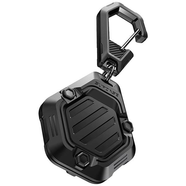 Supcase Unicorn Beetle Pro Rugged AirTag Case with Carabiner