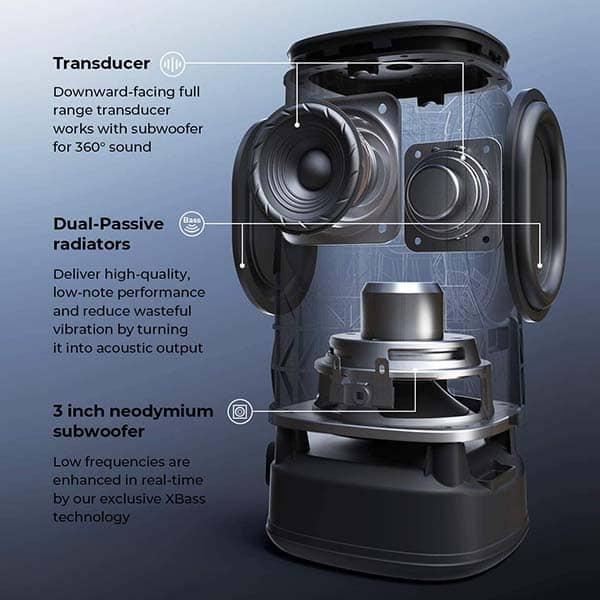 Tribit StormBox Pro Portable Waterproof Bluetooth Speaker