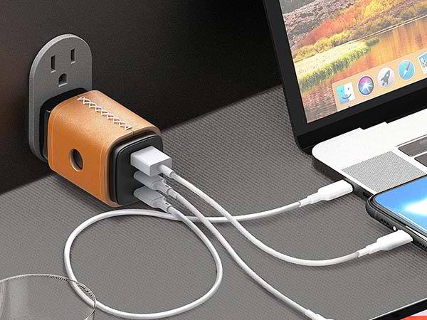 VogDuo USB-C GaN Charger with 65W Power Delivery