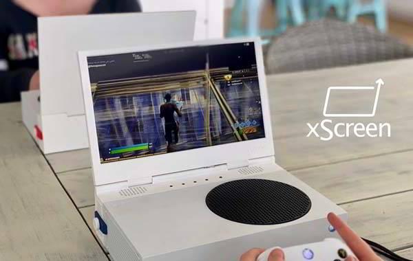xScreen Portable Folding Screen for Xbox Series S